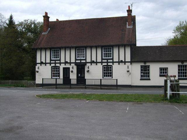 The Royal Oak - The murder scene. Jacob was mounted on a post out front to rot.